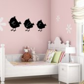 Chick - Chalkboard / Blackboard Wall Stickers