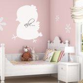 Chick - Whiteboard Wall Stickers