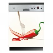Chili Pepper - Dishwasher Cover Panels