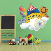 Circus Animals Wall Stickers