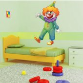 Clown Wall Stickers