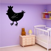 Cock - Chalkboard / Blackboard Wall Stickers