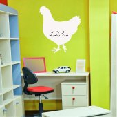 Cock - Whiteboard Wall Stickers