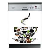 Coffee - Dishwasher Cover Panels
