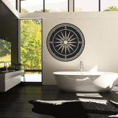 Compass Wall Stickers