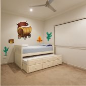 Cowboy Set Wall Stickers
