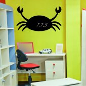 Crab - Chalkboard / Blackboard Wall Stickers