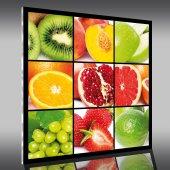 Cuadro metacrilato frutas