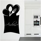 Cutlery - Chalkboard / Blackboard Wall Stickers
