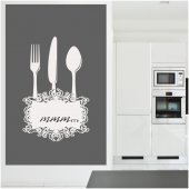Cutlery - Whiteboard Wall Stickers