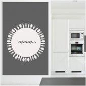 Cutlery - Whiteboard Wall Stickers