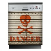 Danger - Dishwasher Cover Panels