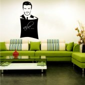 David Beckham - Chalkboard / Blackboard Wall Stickers