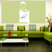 David Beckham - Whiteboard Wall Stickers