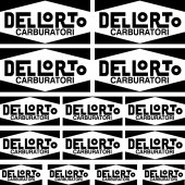 dellorto Decal Stickers kit