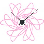 Design Clock Wall Stickers