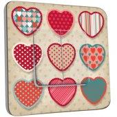 Deviatore decorato doppio- cuore