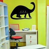 Dinosaur - Chalkboard / Blackboard Wall Stickers