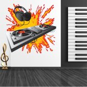 Dj Wall Stickers