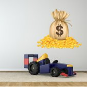 Dollars Wall Stickers