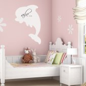 Dolphin - Whiteboard Wall Stickers