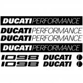 Ducati 1098 Aufkleber-Set