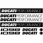 Ducati 1098 Decal Stickers kit