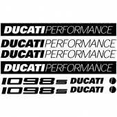 Ducati 1098s Decal Stickers kit