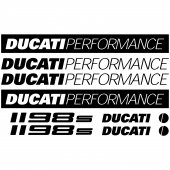 Ducati 1198s Decal Stickers kit