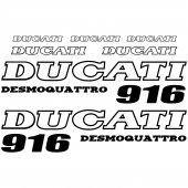 Ducati 916 Desmo Aufkleber-Set