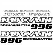 Ducati 996 Desmo Aufkleber-Set