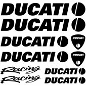 Ducati racing Decal Stickers kit