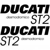 Ducati ST2 Desmo Aufkleber-Set