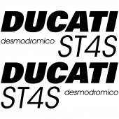 Ducati ST4S Desmo Aufkleber-Set