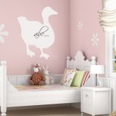 Duck Whiteboard Wall Stickers