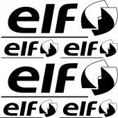 Elf Aufkleber-Set