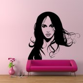 Face Wall Stickers