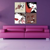 Fashion Wall Stickers