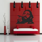Fidel Castro Wall Stickers