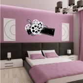 Film Reels Wall Stickers