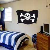 Flag Wall Stickers