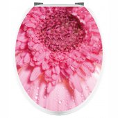Flower - Toilet Seat Decal Sticker