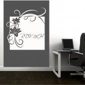 Flower - Whiteboard Wall Stickers