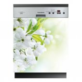 Flowers - Dishwasher Cover Panels
