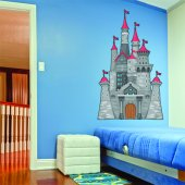 Fortress Wall Stickers