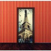 Fototapet pentru usa Turnul Eiffel