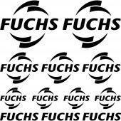 Fuchs Aufkleber-Set
