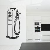 Gas Pump Wall Stickers