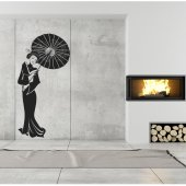 Geisha Wall Stickers