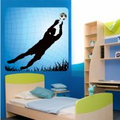 Goalkeeper Wall Stickers